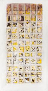 Papstwahl II - 2005 - alle Medien auf Leinwand - 170 cm x 91 cm