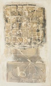 Winter in Montignoso - 2006 - Alle Medien auf Leinwand - 102 cm x 60 cm
