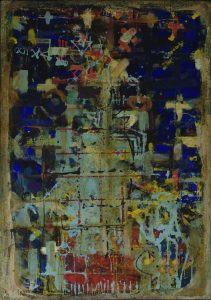 Tempel of Heaven- 1996 - Mischtechnik auf Leinwand - 120cm x 80 cm