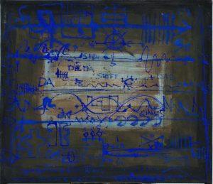 Seefahrt Nautisch - 2007 - Mixed Media - 122 cm x 143 cm